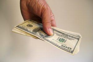 money-hand